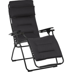 Lafuma Mobilier Futura Taittuva Tuoli Air Comfort, noir/acier